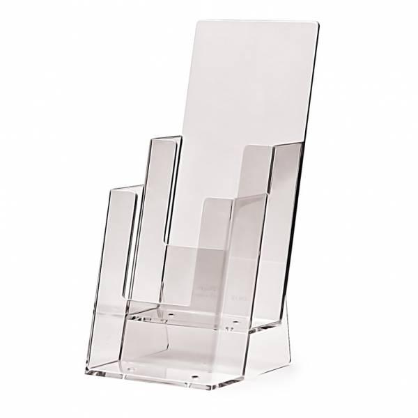 Tischaufsteller für DIN lang (1/3 A4), 2-stufig