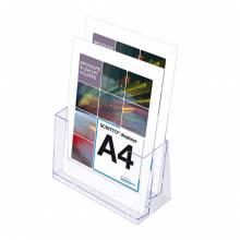 2 x A4 Spritzguss-Prospekthalter