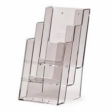 Tischaufsteller für DIN 1/3 x A4 (lang) 3-stufig