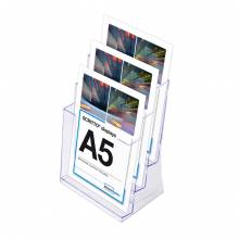 3 x A5 Spritzguss-Prospekthalter