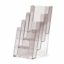 Tischaufsteller für DIN 1/3 x A4 (lang) 4-stufig
