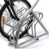 Fahrradständer 6 Räder, mit Logotafel