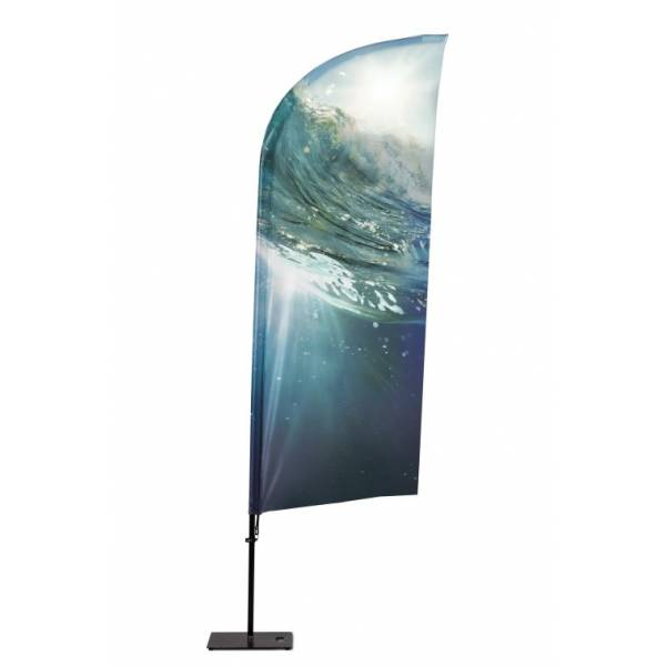 Beachflag Alu Wind 415cm Total Height