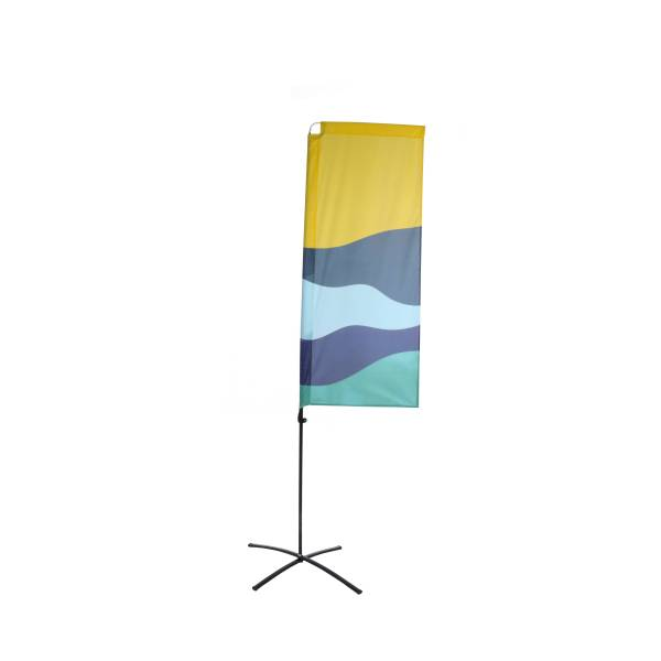 Beachflag Budget Square