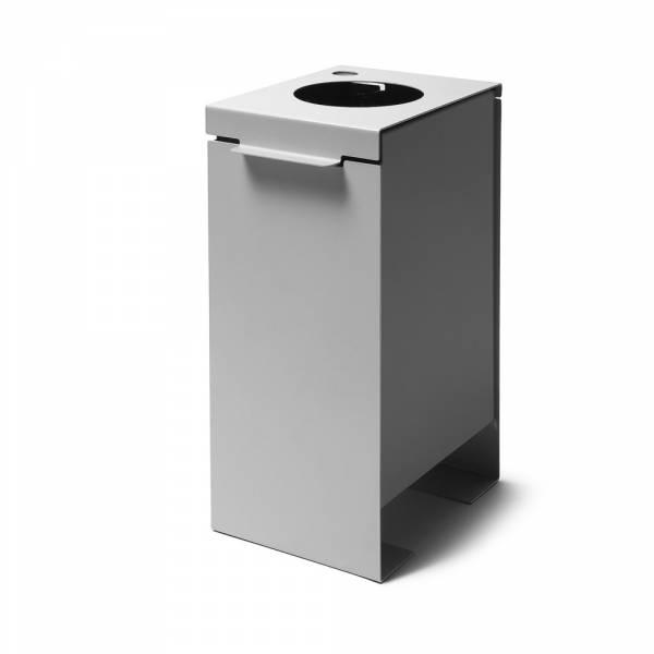 Mülleimer Trennung grau