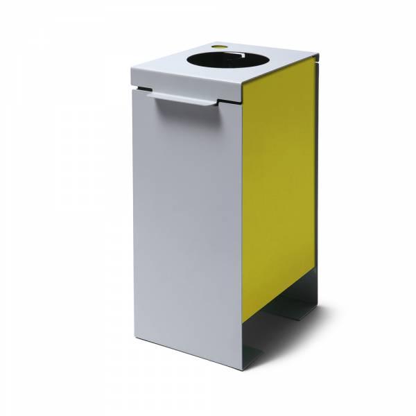 Mülleimer Trennung gelb