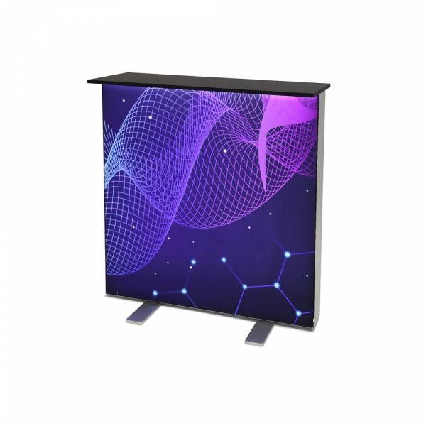 Light Box die Brightbox dieke, diekenplatte Schwarz