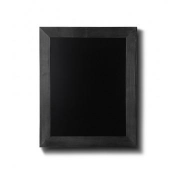 Kreidetafel Holz, flacher Rahmen, schwarz, 30x40