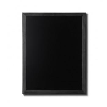 Kreidetafel Holz, flacher Rahmen, schwarz, 70x90