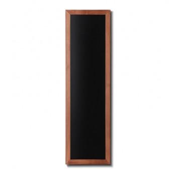 Kreidetafel Holz, flacher Rahmen, teak, 40x120