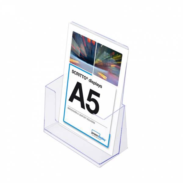 A5 Spritzguss-Prospekthalter Tisch/Wand