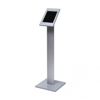 Slimcase Tablet-Halter, freistehender Stand, silber