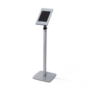 Slimcase Tablet-Halter, höhenverstellbarer Stand, silber