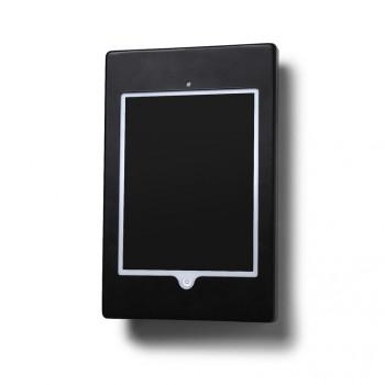 Slimcase Tablet-Halter, Wandmontage, schwarz