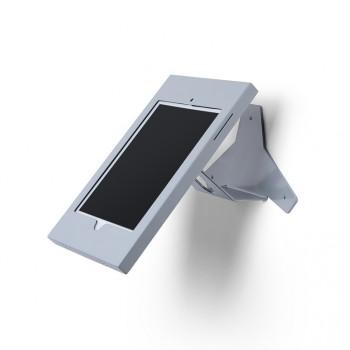 Slimcase Tablet-Halter, Wandmontage mit Neigung, silber