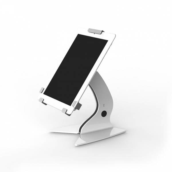 Trigrip Tablet-Halter Tresen fix, für 7 Zoll, weiß