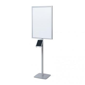 LED Posterstand mit Trigrip Tablet-Halter. 10 Zoll
