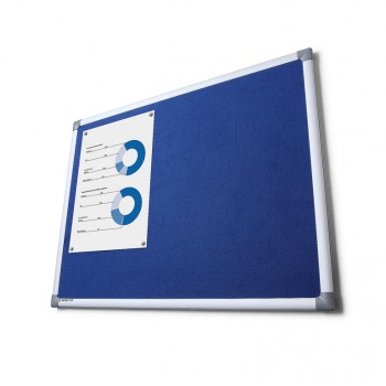 Pintafel Filz 90x180, blau
