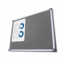 Pintafel Filz 100x200, grau