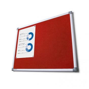Pintafel Filz 100x150, rot