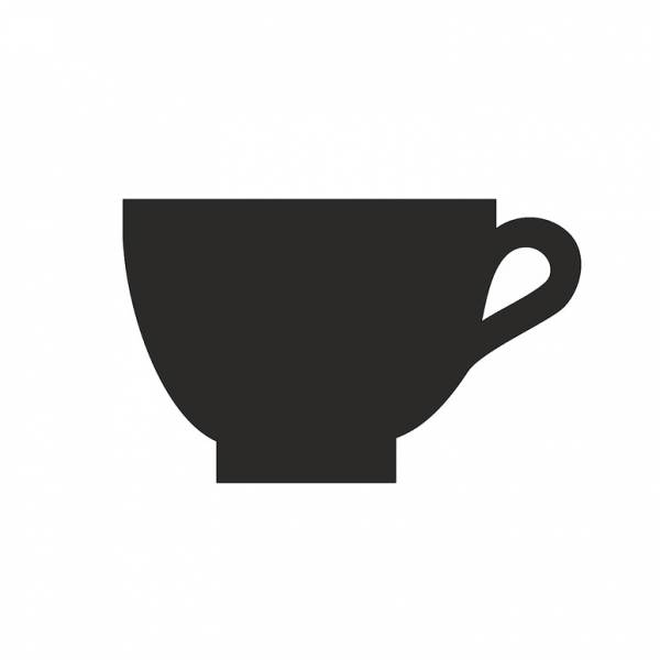 Kreidetafel-Aufsteller Kaffee