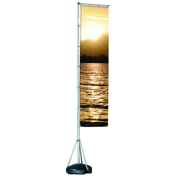 Flagpole 415cm, Box 1 Pole