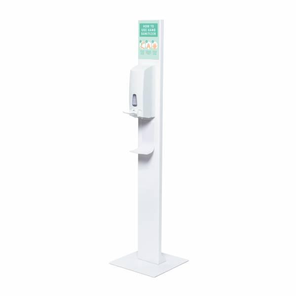 Desinfektionsständer Design mit manuellem Spender