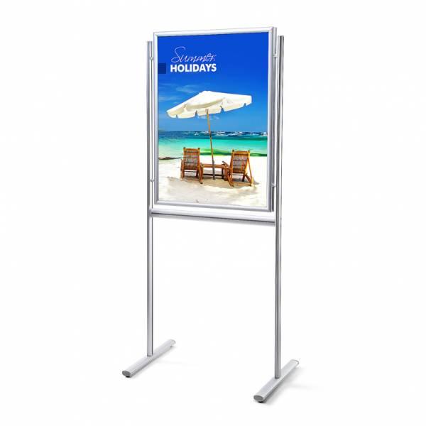 Infoboard 25 mm / Gehrung /doppelseitig, 70x100