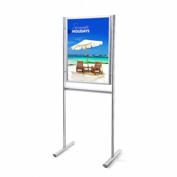 Infoboard 25 mm / Gehrung / doppelseitig, DIN A1