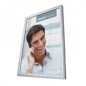 Design-Klapprahmen COMPASSO ® 70x100 - Wetterfest (37 mm)