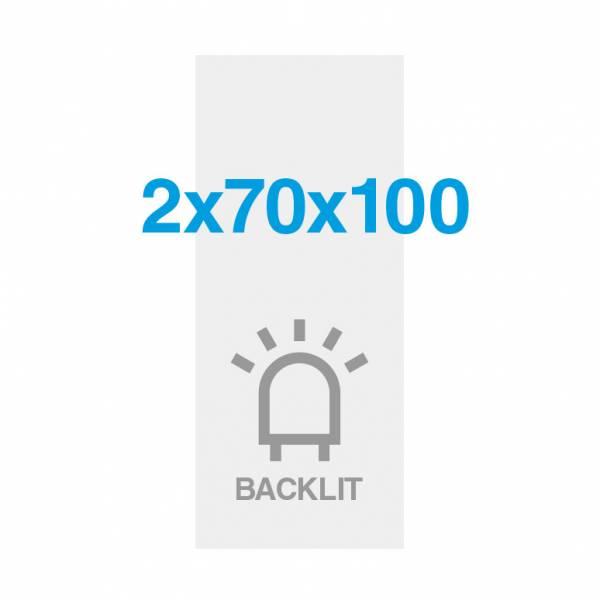 Premium Backlit PP Folie 200g/m2, Satin Oberfläche, 700x2000mm