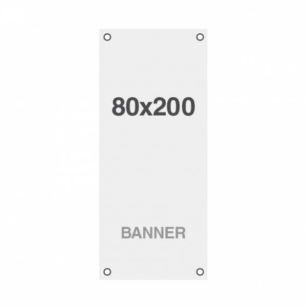 Banner Symbio 510g/m2, 800x2000mm, mit Ösen