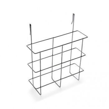 Drahthängekorb für Prospekte DIN A4, für alle Kundenstopper zum seitlichen Einhängen