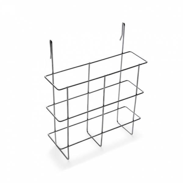Drahthängekorb für Prospekte DIN A5, für alle Kundenstopper zum seitlichen Einhängen