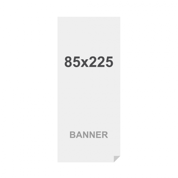 Premium Banner No-curl PP Folie 220g/m2, matte Oberfläche, 850 x 2250 mm