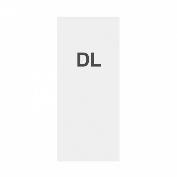 Premium Papier 135g/m2, Satin Oberfläche, DL (99x210mm)