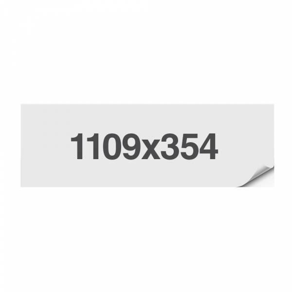 Informations-Aufkleber 1109x314mm, 1 Stück