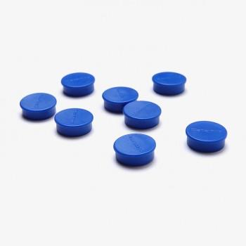 Magnete 20 mm / blau, VPE mit 8 Stück