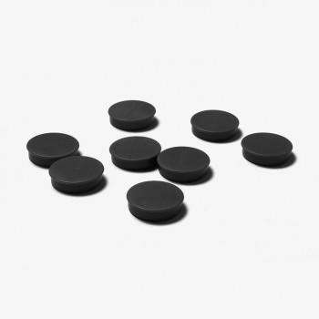 Magnete 35 mm / schwarz, VPE mit 8 Stück