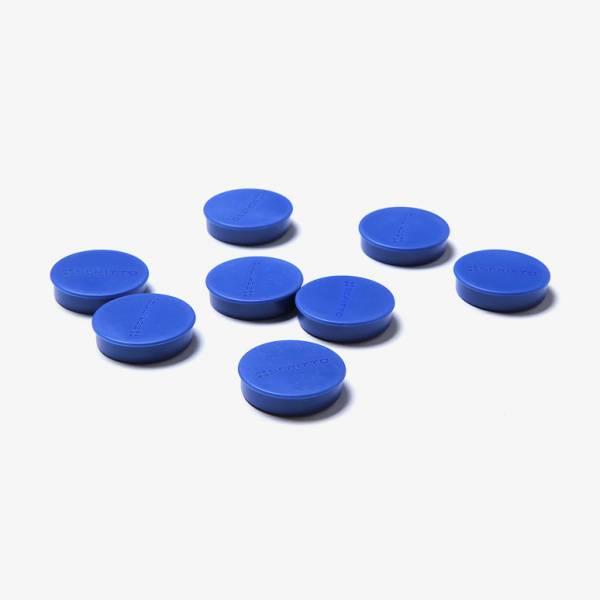 Magnete 35 mm / blau, VPE mit 8 Stück