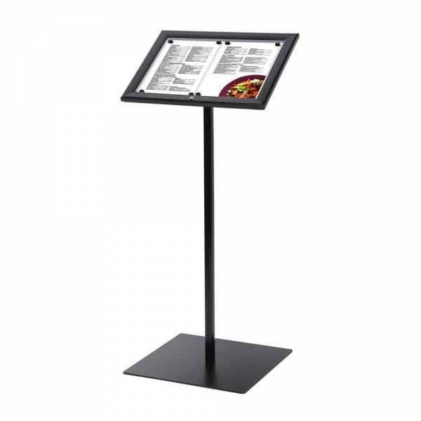 Speisekartenständer Außen Schwarz (2xA4)