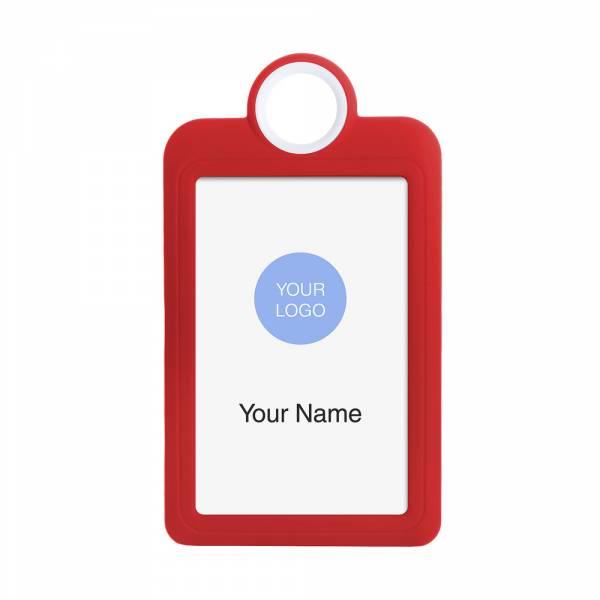 ID Karte, 54x85 rot