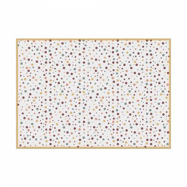 Tischsets Punkte Farbe Erde