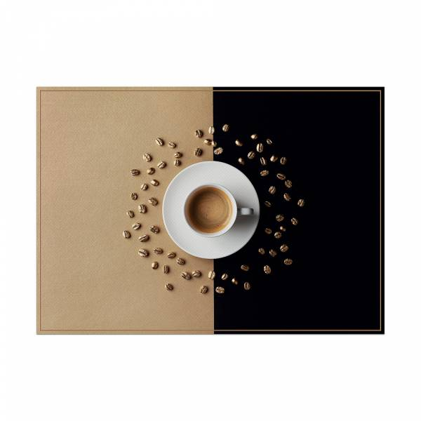 Tischsets Kaffeetasse