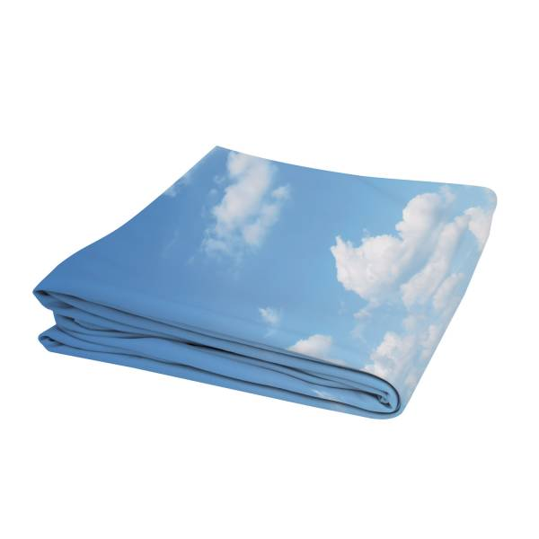 Pop-Up Fabric Premium 3x3 Straight Graphic Backside