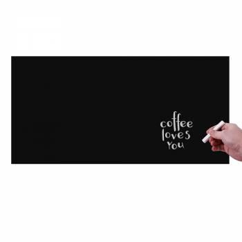 Selbstklebende Beschriftungsfolie 45x100cm, schwarz