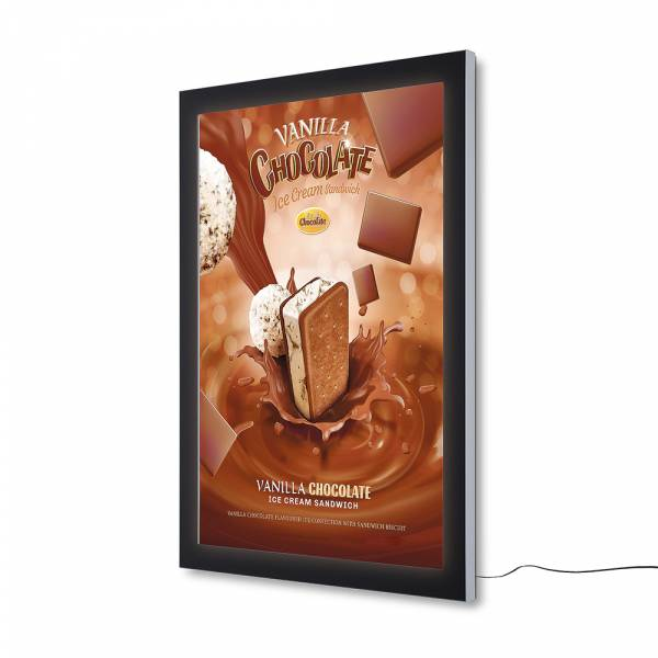 Plakatschaukasten Außen Premium LED (100x140)
