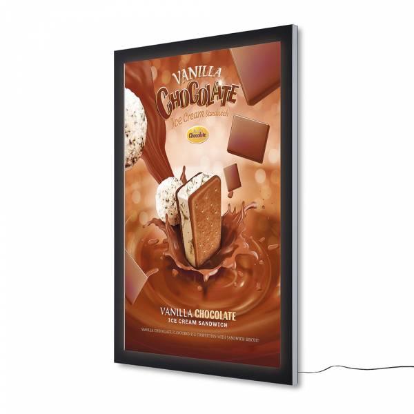 Plakatschaukasten Außen Premium LED (118,5x175)