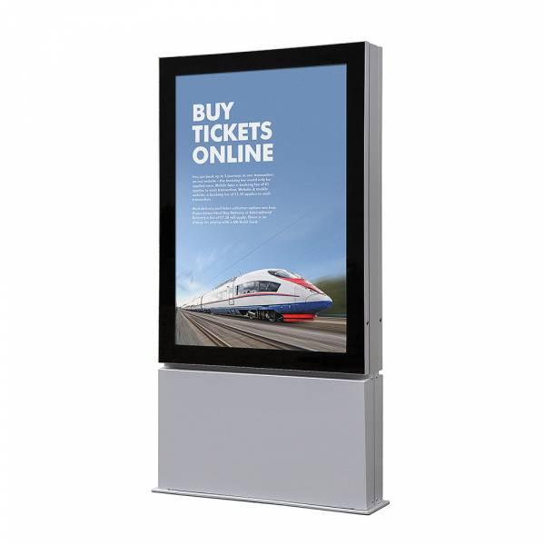 Plakatschaukasten Außen Premium LED - Freistehend (A0)
