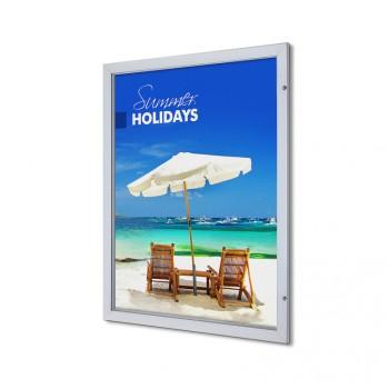 Abschließbarer Plakatschaukasten Premium (101,6x127)